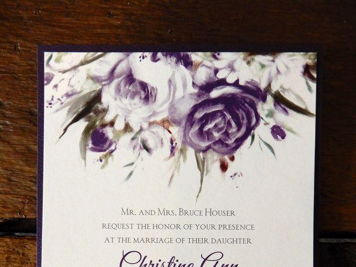 Tmx 1510076467167 Sampleinvite7 Batavia wedding invitation