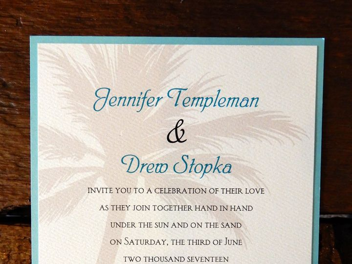 Tmx 1510076504812 Sampleinvite9 Batavia wedding invitation