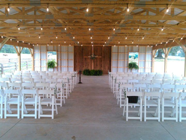 Wedding under the pavilion