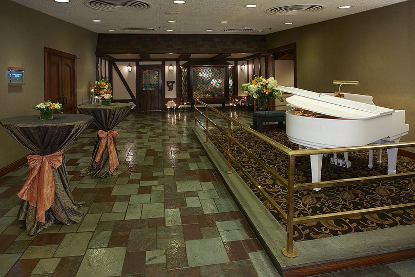 Greet your guests in our charming pre-function space and enjoy the use of our baby grand piano.