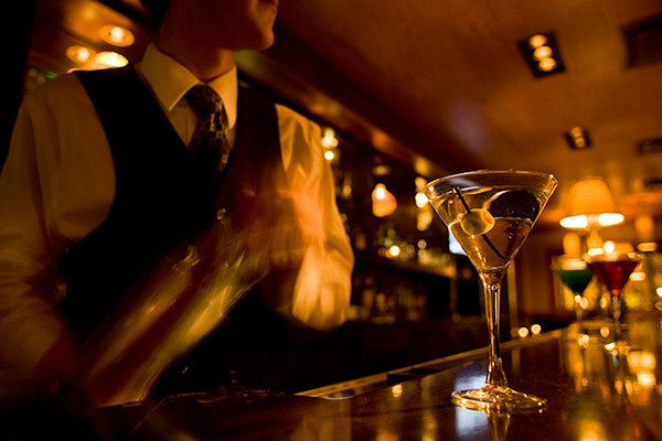 Enjoy a martini curated by our skilled bartenders