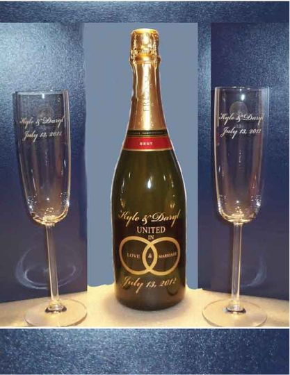 800x800 1382814590758 Personalized Wedding Gift Etch Champagne Bottle