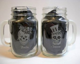 Day of the Dead Mason Jars