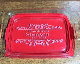 Personalized Pyrex