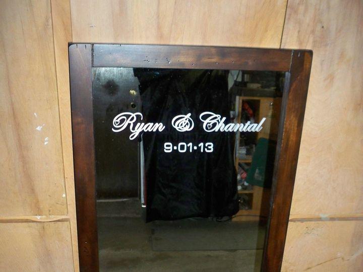 Tmx 1382814683709 Bride And Groom Personalized Full Length Mirror Wedding Gift Olathe wedding favor