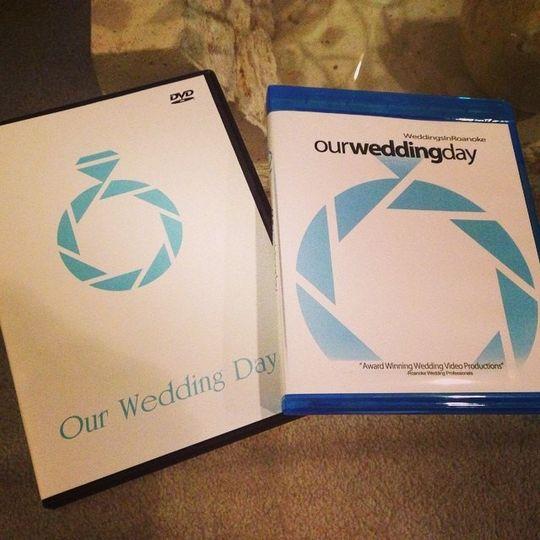 Wedding DVD format