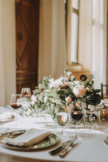 Ballroom Dining TableKendra Lynece Photography