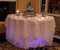 Wedding cake Charlotte Harbor Yacht Club Port Charlotte Florida