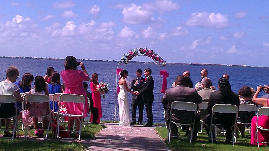 Wedding Ceremony at White Orchid FT Myers FL