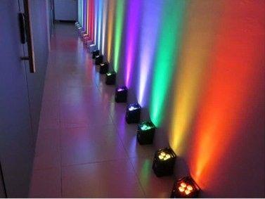 Custom uplight colors
