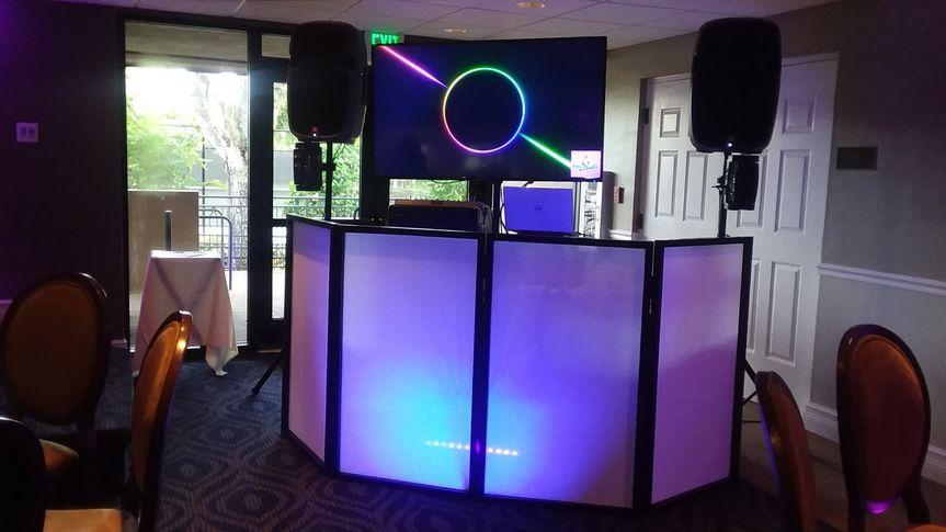 DJ Booth Video & Slide Shows