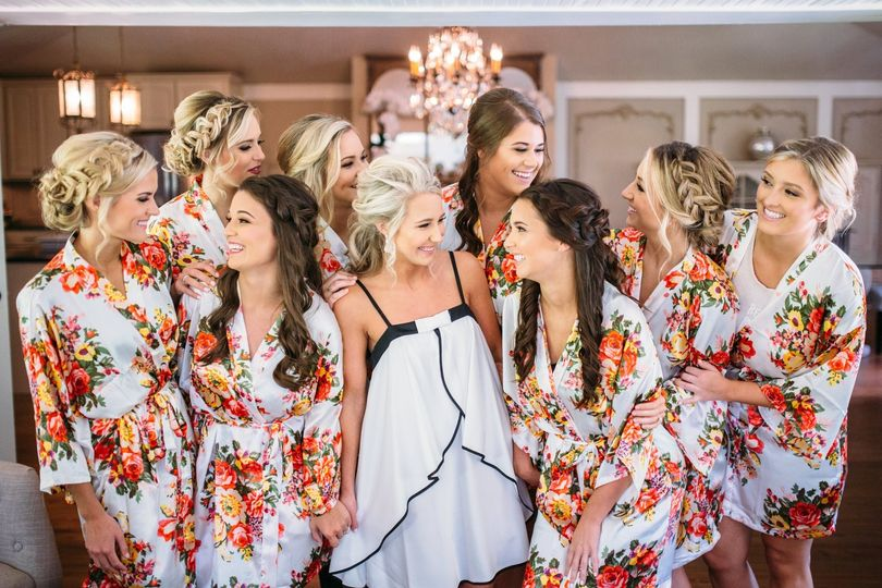 Tate House Bridal Party