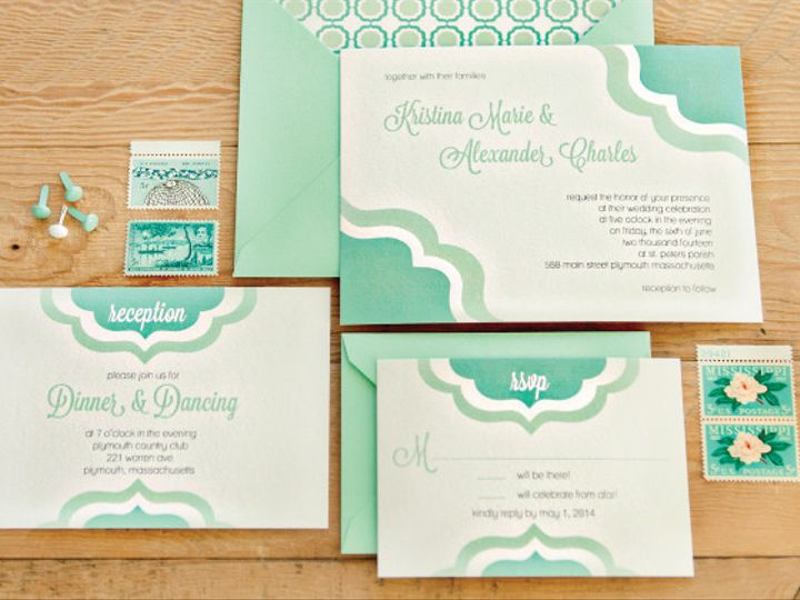 Tmx 1399594645155 Mint Plymouth wedding invitation