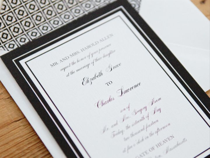 Tmx 1417555745491 Bw2 Plymouth wedding invitation