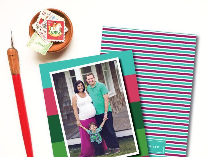 Tmx 1417634263464 Colorbloc1 Plymouth wedding invitation