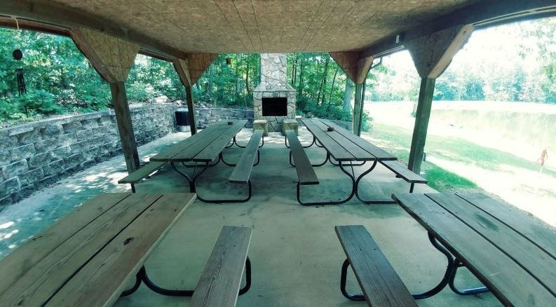 Picnic shelter onsite