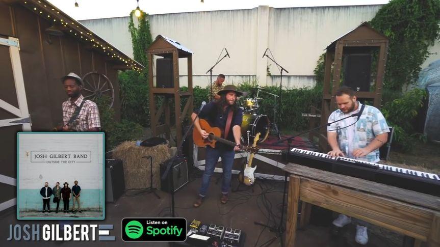 Josh Gilbert Band outdoor