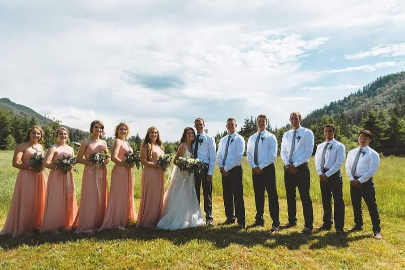 Beth and Anden Bridal Party