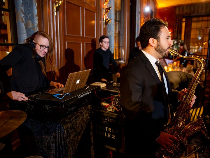 Tmx Andrea And Jimmy Hotel Allegro Chicago Wedding Sprung Photo 1087 51 2300 Chicago, IL wedding band