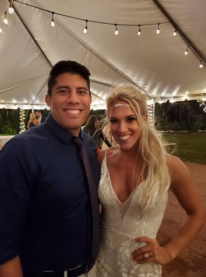 Congrats to the Gorgeous Bride