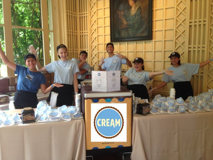 Our lively CREAM team excited to serve