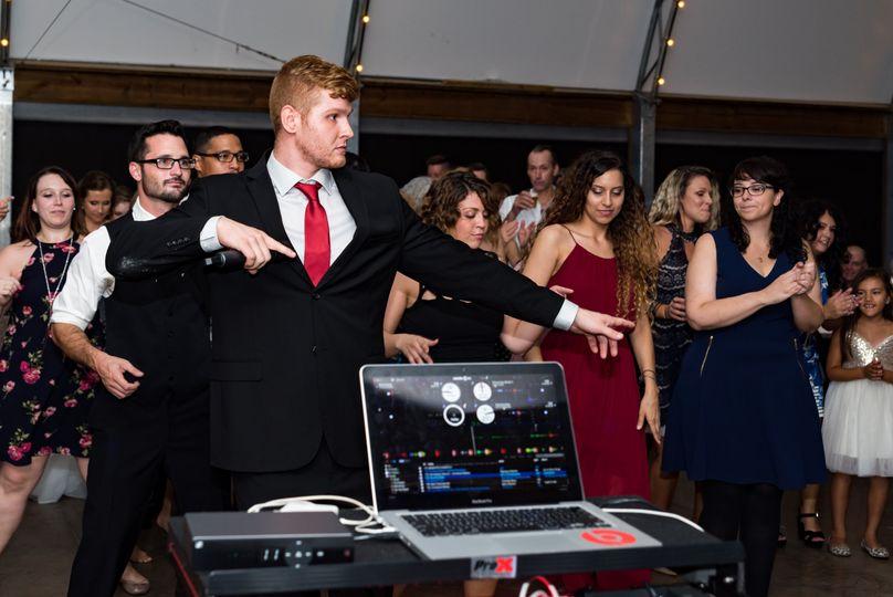 Instructing dances
