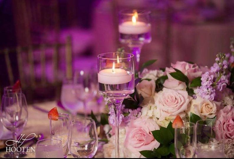 Pretty table decor