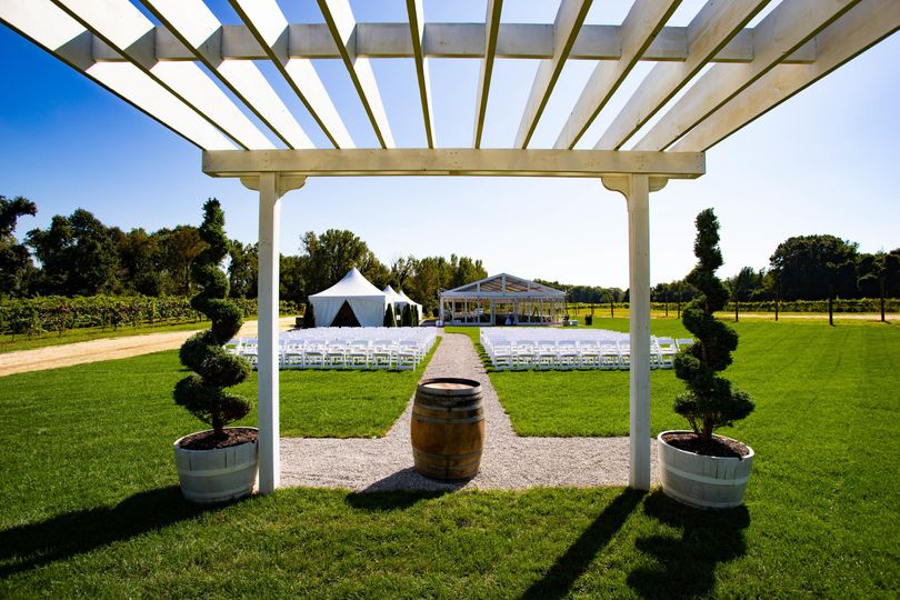 Ceremony Space - Estate View
