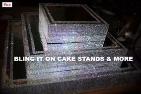 Bling It On Cake Stands