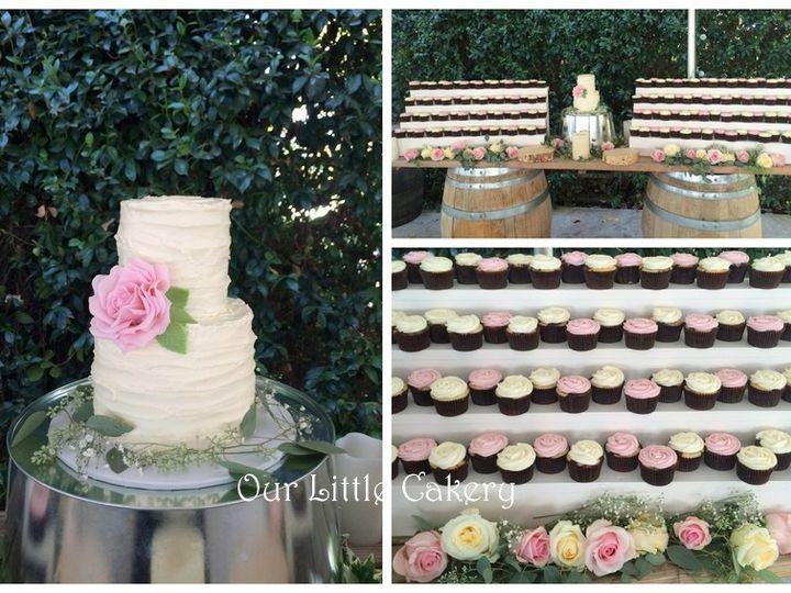 Tmx 1415809841108 Saras Wedding Fresno wedding cake
