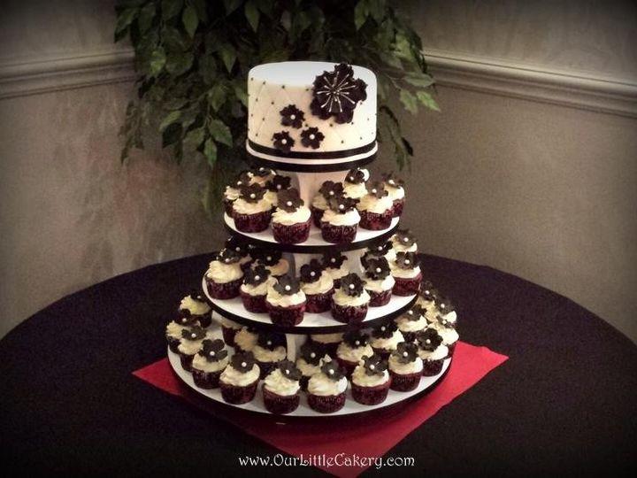 Tmx 1415809968046 0amanda Wedding Fresno wedding cake