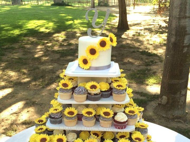Tmx 1415810019310 0chelsea And Jordan Cupcakes Fresno wedding cake