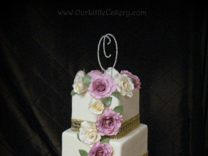 Tmx 1415810025725 0donney And Kelsey Wedding Cake Fresno wedding cake