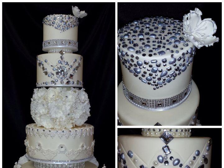 Tmx 1415810028885 0dummy Ball 02 Fresno wedding cake