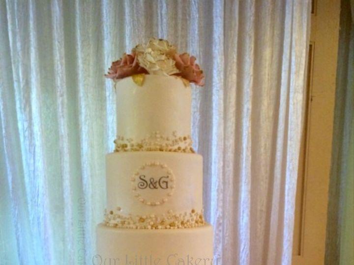 Tmx 1415810038876 0gabby And Sal Fresno wedding cake