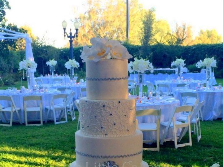 Tmx 1415811387441 0kristin Fresno wedding cake
