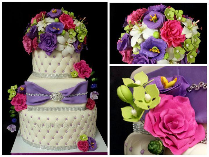 Tmx 1415811429982 0malessa Wedding Final Fresno wedding cake