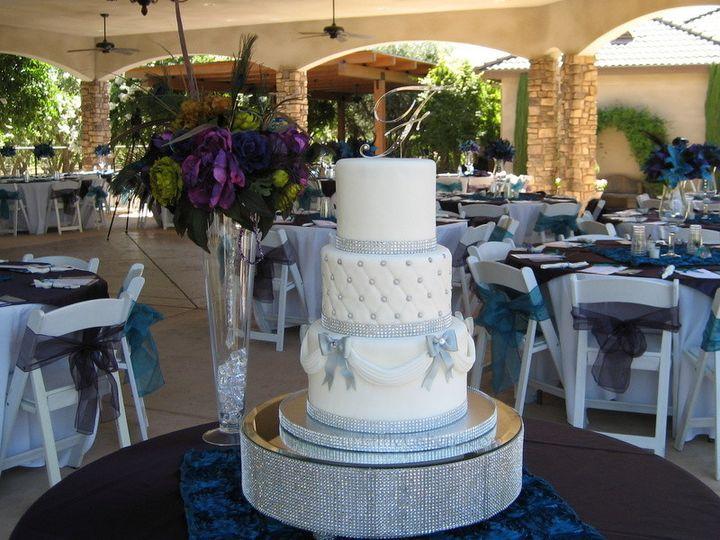 Tmx 1415811436192 0mayra Wedding Venue Fresno wedding cake