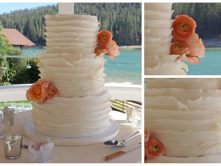 Tmx 1415811486085 0ruffles Jessyca Fresno wedding cake