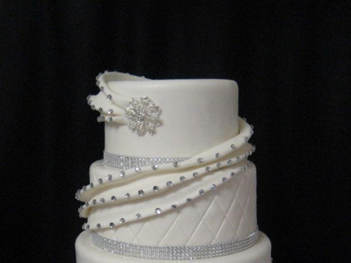 Tmx 1415811497304 0tammy Wedding Wonder Valley Fresno wedding cake