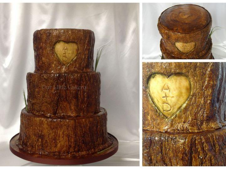 Tmx 1415811502214 0trees Tump Cake Fresno wedding cake