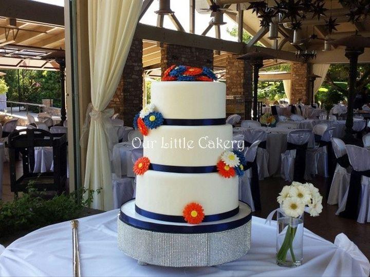 Tmx 1415811508051 0vanessa Wed01 Fresno wedding cake