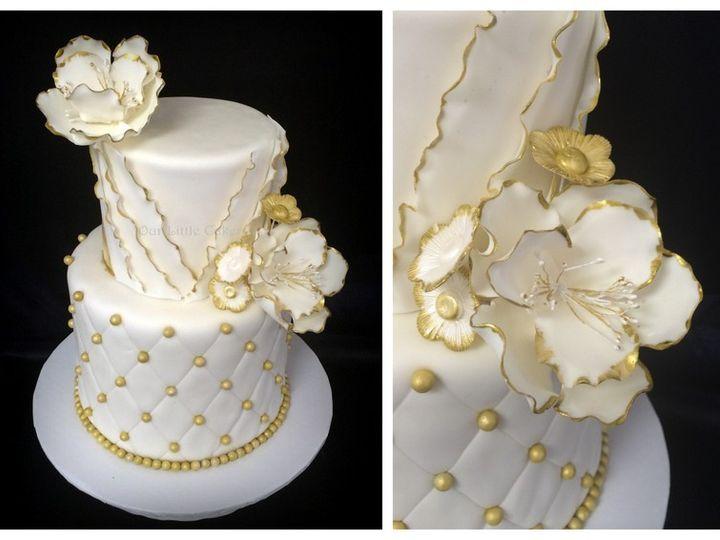 Tmx 1415811520310 0wedding 7 Collage Fresno wedding cake