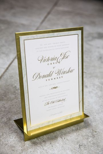 Sea Marble Suite with Gold Foil