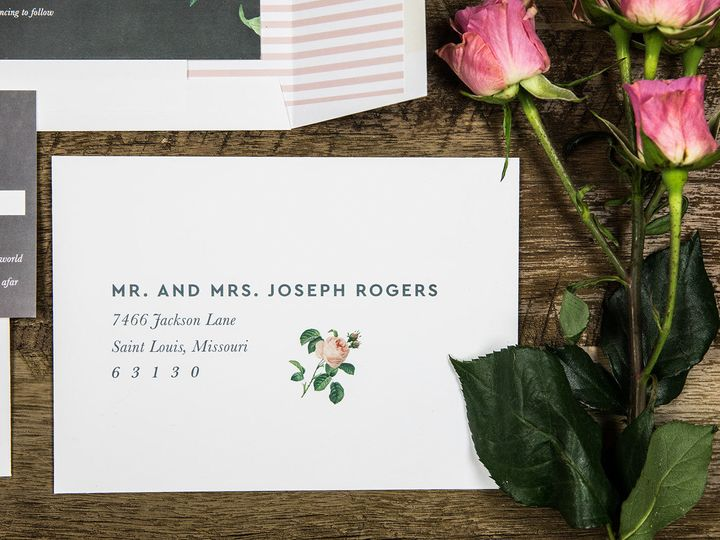 Tmx 1536156233 283aa711b6196158 1536156231 08968fc7d1f2f56d 1536156228121 9 PaperGirlCreative  Denver, CO wedding invitation