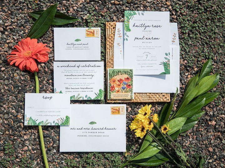 Tmx 1536157053 F94cbd617b2212a3 1536157051 05f30643da8c7bf8 1536157044929 24 PaperGirlCreative Denver, CO wedding invitation