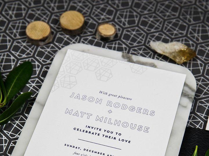Tmx 1536333486 6946667794f7e0a4 1536333485 295f3f041f56efbe 1536333485507 1 PaperGirlCreative  Denver, CO wedding invitation