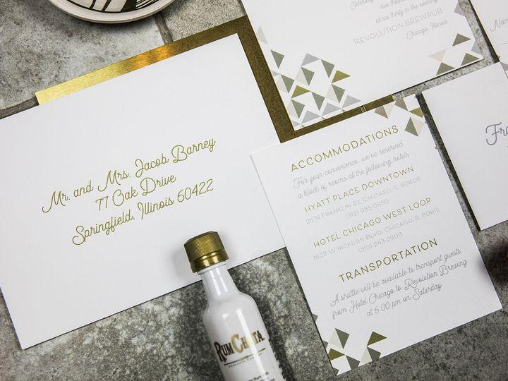 Tmx 1536333507 Af2da1d19eeeba8d 1536333506 B4e2362e20de674b 1536333506640 2 PaperGirlCreative  Denver, CO wedding invitation