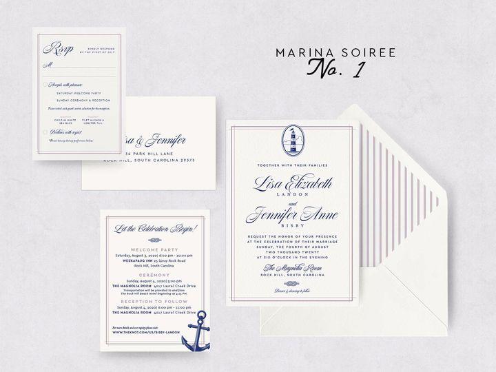 Tmx Marina Soiree 1 51 1015300 1571754223 Denver, CO wedding invitation