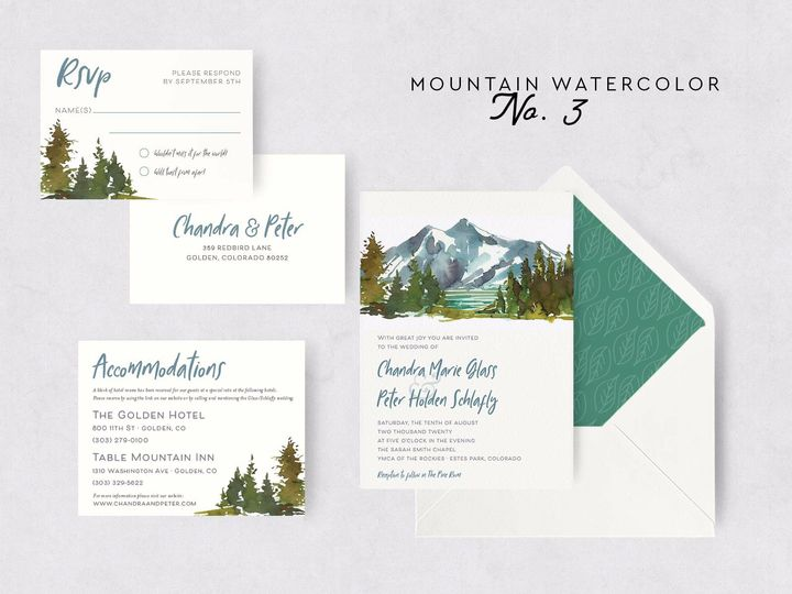 Tmx Mountain Watercolor 3 51 1015300 1571754358 Denver, CO wedding invitation